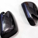 Carbon Fiber Mirror Covers For Honda Jazz Fit 2009-2013 With LED