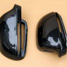 For Audi S4 2008-2011 Carbon Fiber Mirror Covers Replacement