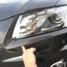 Carbon Fiber Headlight Eyelids For Audi Q5 2008-2014