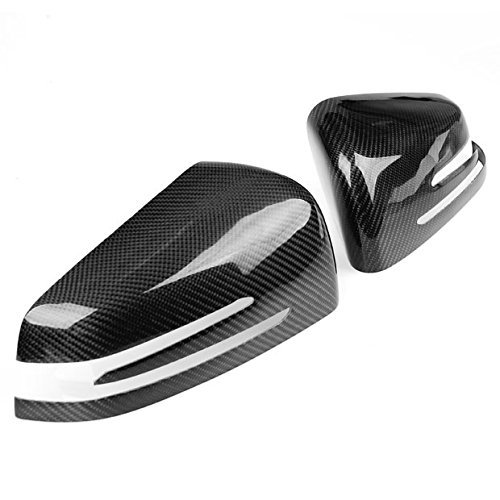 For 2010-2014 MERCEDES-BENZ W212 E-Class E250 E350 E400 Carbon Fiber Mirror Cover