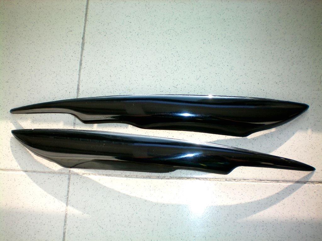 Fiberglass Headlight Eyelids For Audi A4 B7 2006-2007