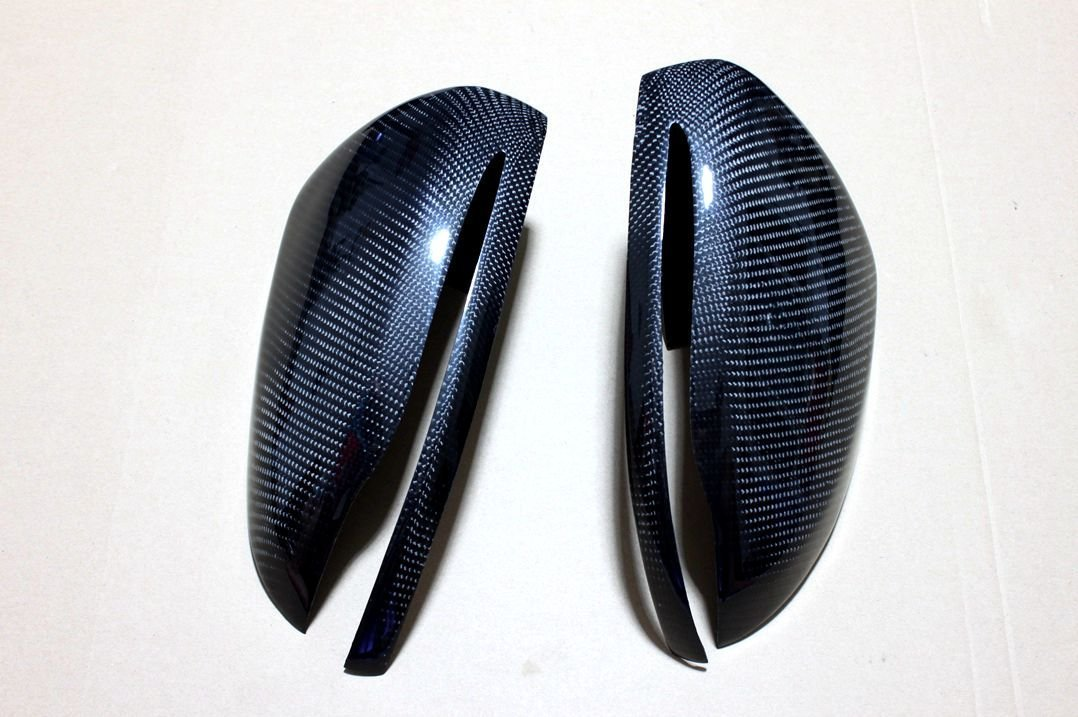 Carbon Fiber Mirror Covers For Mercedes Benz C63 AMG W205 2014 2015