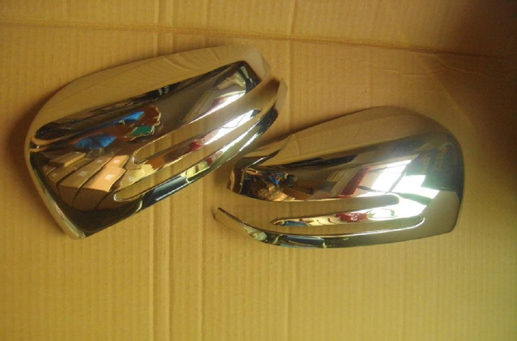 Chrome ABS Mirror Covers For Mercedes Benz CLS Shooting Brake 2012-2014