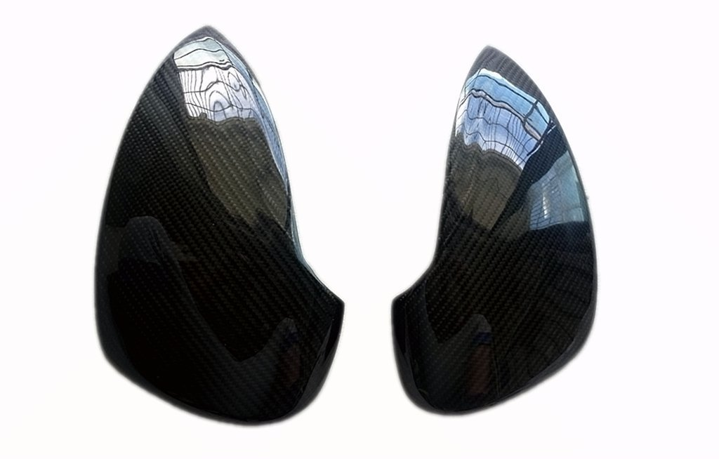 Carbon Fiber Mirror Covers Stickers for Mercedes Benz S-Class W221 2005-2009