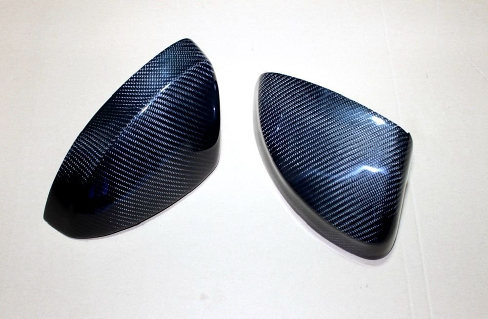 Carbon Fiber Mirror Covers For Audi A1 2010-2014