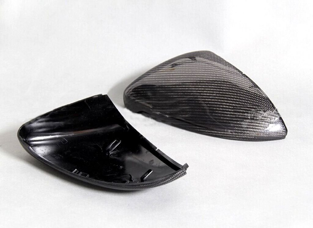 For Vw Golf VII Golf7 Mk7 2012-2014 Carbon Fiber Mirror Covers Replacement