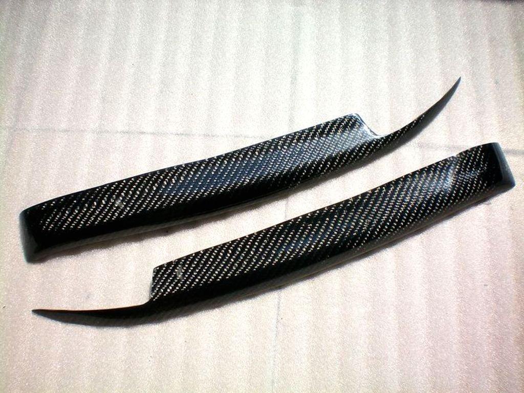 Carbon Fiber Headlight Eyelids For Nissan R32 GTR GT-R 1989-1994