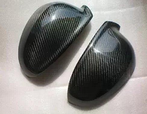 Carbon Fiber Mirror Covers For VW Golf V Golf5 3/5Doors 2003-2008