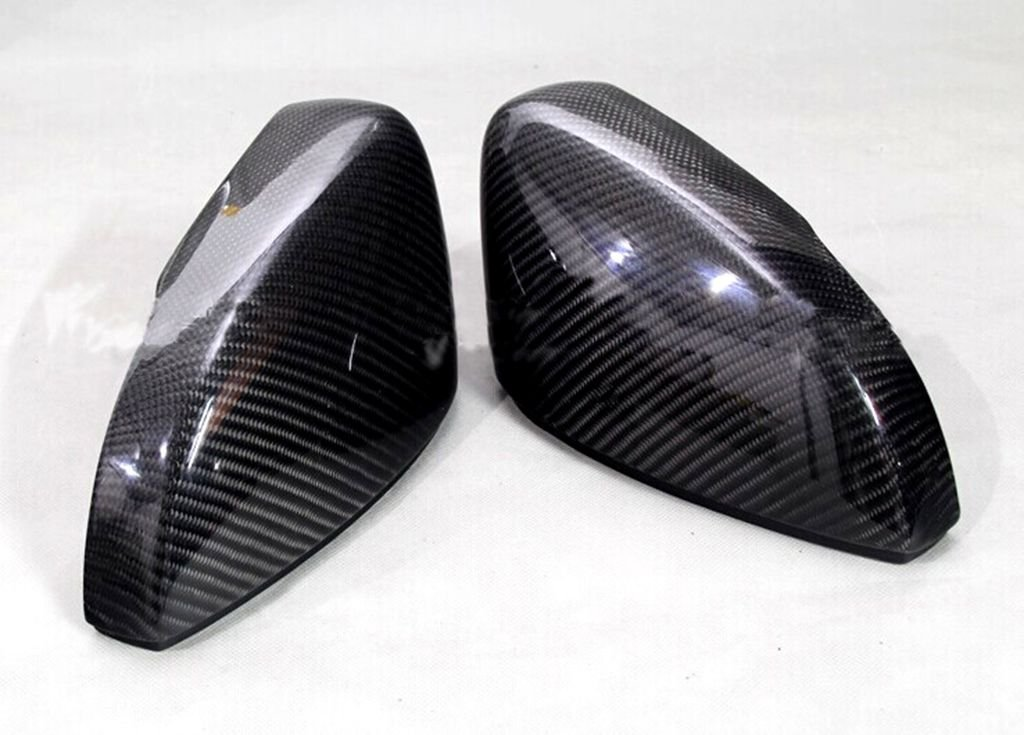 Carbon Fiber Mirror Covers For VW Polo 2009-2014