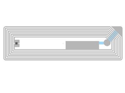 HF Inlays RFID Wristband Tag