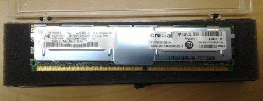 Crucial/Micron CT51272AF667 (MT36HTF51272FY) 4GB DDR2 PC2-5300 ECC Full-Buffer