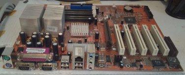 Syntax SV266A Socket A VIA AMD Athlon Motherboard with Processor/Heatsink