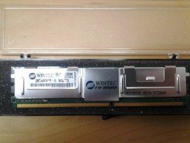 WINTEC/HP D35173-001 Rev. C 2GB PC2-5300 DDR2 FBDIMM Server Memory Module