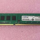Crucial CT25664BA160B.C8FER2 2GB DDR3 PC12800 240Pin Memory Module