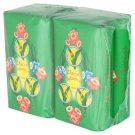 """Parrot'' Brand the legendary Thai Herbal brand of soap natural flora (4 bars/1 Pack)"