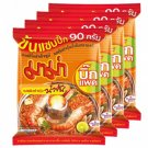 Thai Noodles MAMA Tom Yum Goong (Creamy) 4pcsX90g Big Pack.Thai food