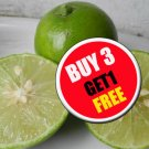 Thai Tropical Organic Lime 50 Seeds,Lemon Seeds (#B 3 G 1 Free)