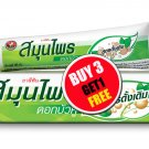 Twin Lotus Original Dark Herbal Toothpaste 100g (3.52 oz) Oral Care Thai Product (#B 3 G 1 Free)