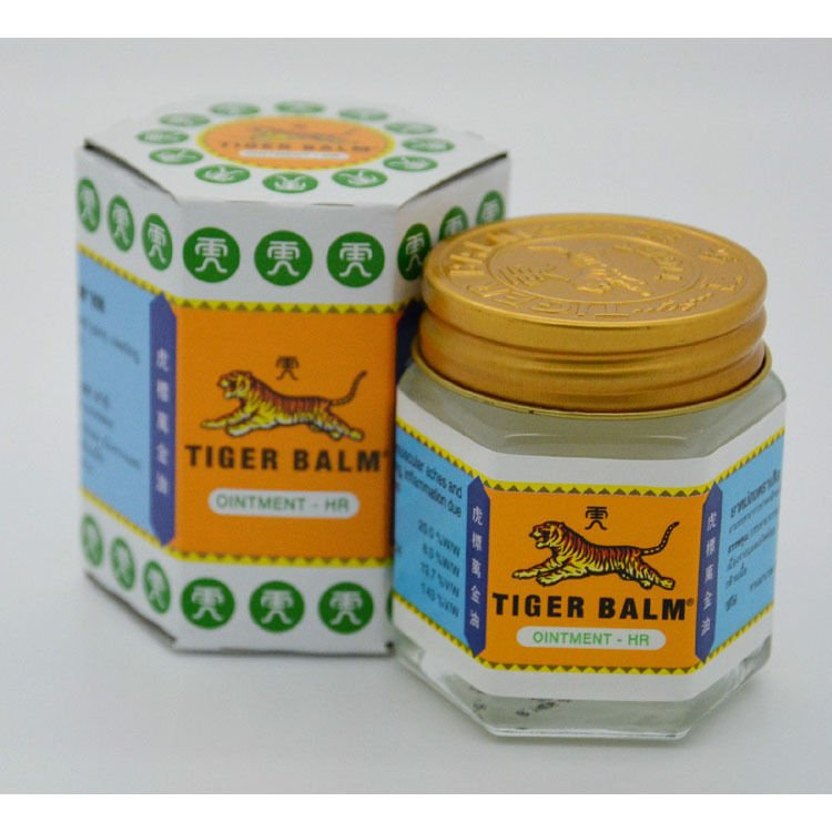 Tiger Balm White Muscle Aches Pain Relief Ointment Massage Rub 30g.