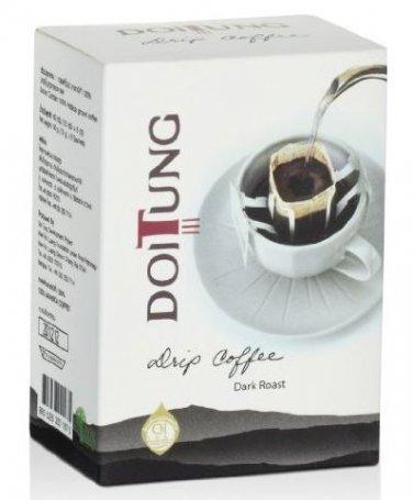 Doitung Drip Coffee Dark Roast Premium from Thailand. (6 Packs/1 Box)