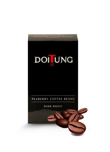 DoiTung Peaberry Dark Roast (Beans) 200g.