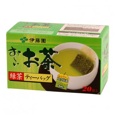 Japan Green Tea Leaves Ito En Green Tea Blend 20 Tea Bags.