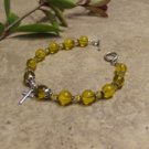 Prayer Bracelet Standard Sterling Silver (Yellow)