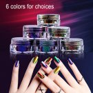 DIY Gorgeous Chameleon Mirror Nail Art Powder Manicure Chrome Pigment Glitters