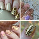 1Sheet DIY Embossed 3D Nail Stickers Blooming Flower 3D Nail Art Stickers Decals