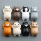 Cute Funny Cartoon Animals Cat Fridge Magnet Sticker Refrigerator Home Decor FT
