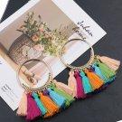 Charm Women Bohemian Earrings Long Tassel Fringe Boho Dangle Earrings Jewelry FT
