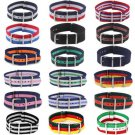 Infantry Military Army Buckle Nylon Wrist Watch Band Fabric Strap Width 18-22mm