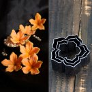 3PCS DIY Flower Cookies Cutter Pastry Biscuit Cake Decorating Mold Mould Tools