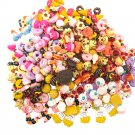 10Pcs/set Fast food&Rilakkuma Squishy Charms Toy Collection