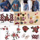 Fun Fashion Applique Badge Embroidered Floral Collar Sew Patch Dress Craft DIY
