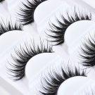 5 Pairs Natural Thick False Eyelashes Long Handmade Makeup Eye Lashes Extension