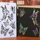 Fashion DIY Craft Butterfly Stencils Template Painting Scrapbooking Stamps Album