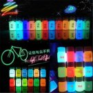 Romantic Glow in the Dark Acrylic Luminous Paint Bright Pigment Painting Party F
