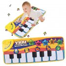 Cute Touch Play Learn Singing Piano Keyboard Music Carpet Mat Blanket Kids Toy F