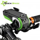 Cool ROCKBROS Multifunction Bicycle Audio Player Bike Headlight Phone Holder FT