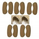 5 Pairs Sticky Shoe Back Heel Inserts Pads Cushion Liner Grips Foot Care Insoles