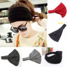 Elastic Fashion Women's Headband Hairband Yoga Hair Band Headwrap Turban Cotton