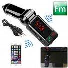 With 2 USB Port Car Kit MP3 Music Player Wireless Bluetooth FM Transmitter Radio