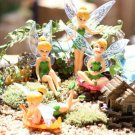 Cute Flower Fairy Micro Landscape Gardening Mini Dollhouse Family Ornament