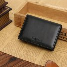 Mini Men's Genuine Leather Wallet Bifold ID Credit Card Holder Purse Money Clip