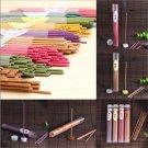 50 Sticks Incense Burner Natural Aroma Vanilla Sandalwood Rose Air Freshener New