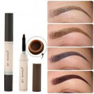 5 Colors Eye Brow Dye Cream Pencil Long Lasting Waterproof Eyebrow Set Makeup