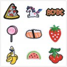 Sew Iron On Patches Embroidered Transfer Badge Fabric Clothes Bag Applique FT