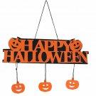 Hanging Halloween Pumpkin Pendant Door Decor Party Decoration Halloween Banner