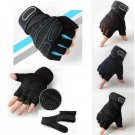 1 Pair Weight lifting Gym Gloves Training Fitness Wrist Wrap Workout Sports New